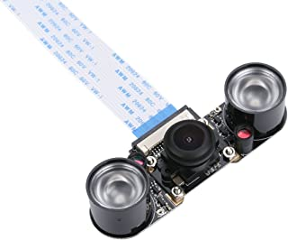 Raspberry Pi cámara de ojo de pez Gran Angular 5MP 1080P visión nocturna cámara módulo para Raspberry Pi RPI 23B +