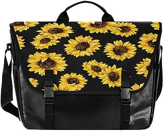Sunflower - Bolso de lona para hombre y mujer, diseño retro