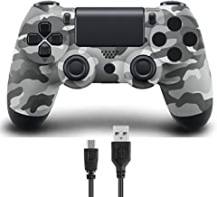 Donop Wireless Controller for PS4, Game Remote Joystick Compatible with Playstation 4 Slim Pro...
