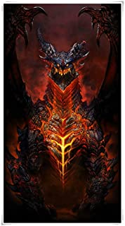 Wooden Jigsaw Puzzles Cataclysm DEATHWING 300,500,1000,1500 Pieces,Premium Quality Basswood IQ Game Educational Toys for A...