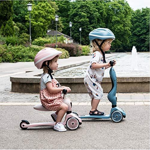 (スクートアンドライド)ScootandRideキックボードこども三輪[ハイウェイキック1](スチール)