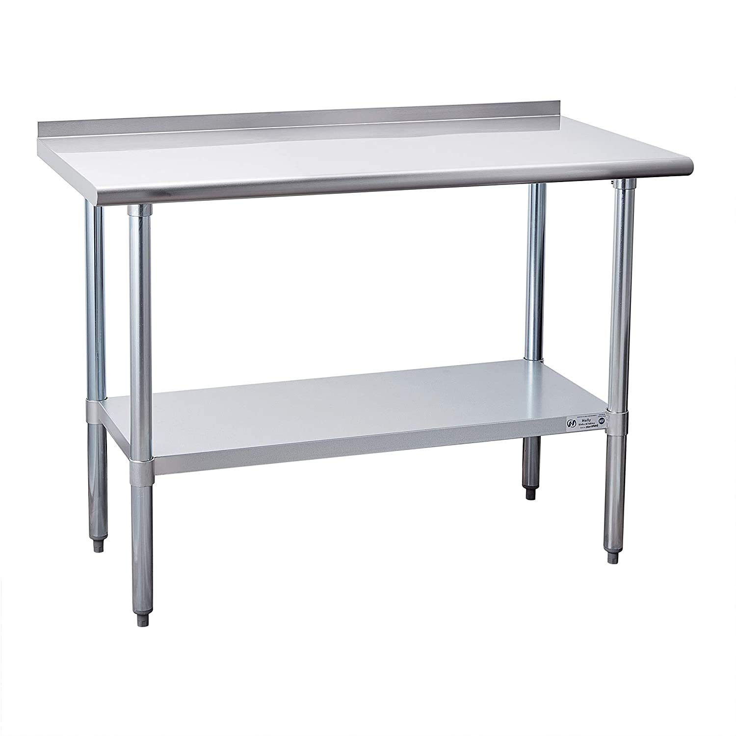 Hally Sinks Tables Miami Mall Over item handling H Stainless Steel Work Prep for 24 Table