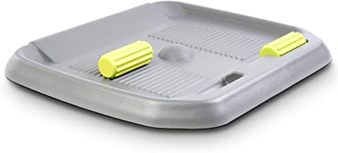 FEZIBO Standing Desk Anti Fatigue Mat with Ergonomic Design Comfort Floor Mat Gray