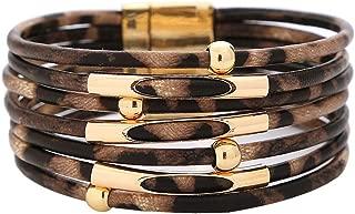 Best leather wrap charm bracelet Reviews