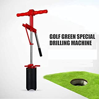 Kofull Golf Lever Action Hole Cutters Steel Scalloped Blade for Golf Greens