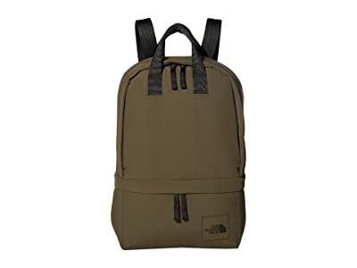 The North Face City Voyager Daypack (New Taupe Green/TNF Black) Backpack Bags