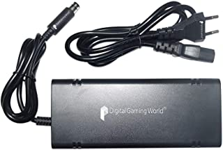 Digital Gaming World® Power Supply Adapter for X-box 360 E Console.(100V To 240V) Universal Use **Not Compatible/Suitable ...