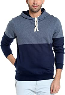 Campus Sutra Men's Cotton Solid Hoodie