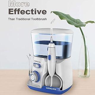 ウォーターフロッサー、800mL 5ジェットチップス口頭洗浄器、ブレースケア&歯磨き用10圧電動デンタルフロス、家庭用)