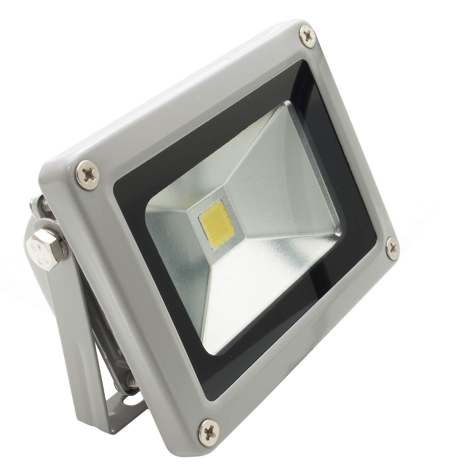 Foco LED de exterior E Interior 10 W Foco LED para jardín carteles escaparates IP65: Amazon.es: Iluminación