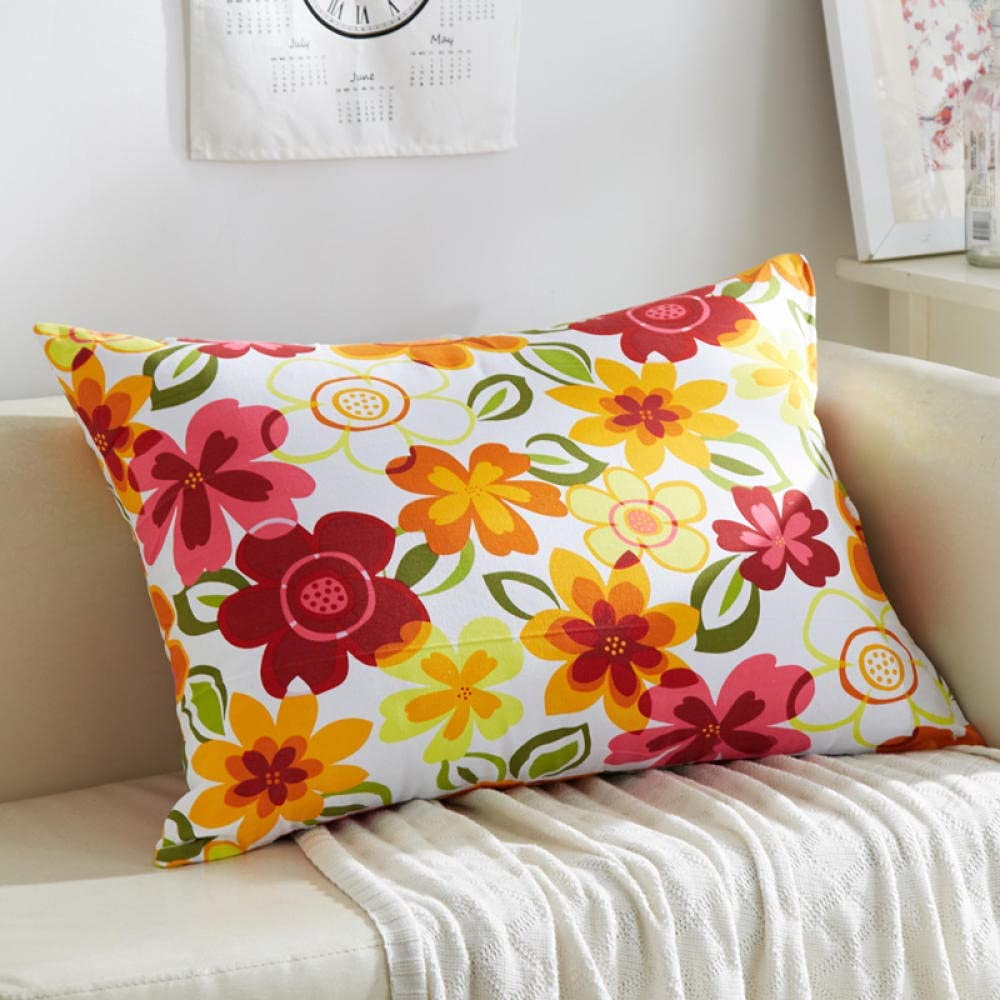 Rectangular Ranking TOP6 Sofa Cushion Cover Bed Canvas Relying The T Throw Direct stock discount on