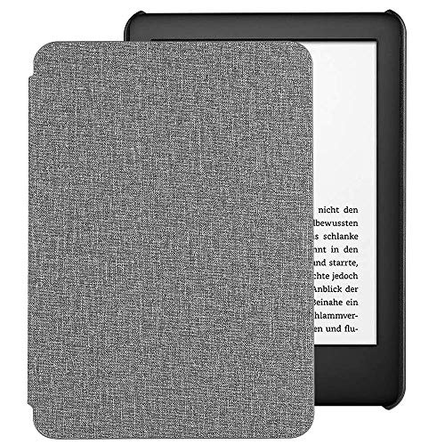 EasyAcc Hülle für Kindle 2019 (10.Generation 2019 Release), Ultra Dünn Smartshell Case mit Auto Sleep/Wake up Funktion Kompatibel für Modelle der Kindle 2019 - Grau