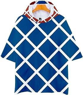 Lemonationop JoJo Bizarre Adventure 3D Full Printed Boy T-Shirt Black