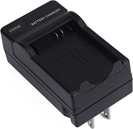 Camera Battery Charger for Canon LP-E5,EOS Rebel XS,Rebel T1i,Rebel XSi,XS,1000D,500D,450D,Kiss X3/2,LC-E5,Black