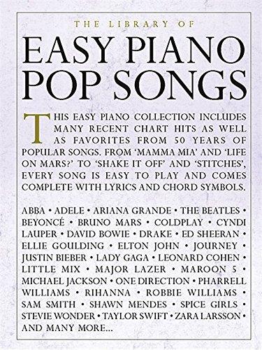 easy piano pop songs