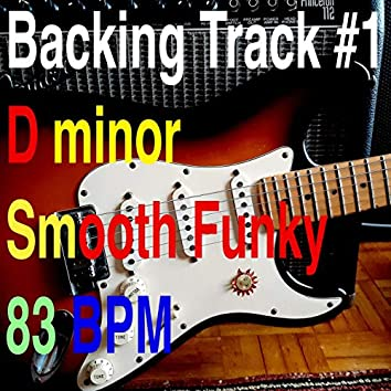 Backing Track No. 1 D minor Smooth Funky