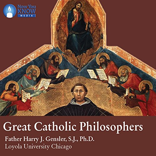 Great Catholic Philosophers audiobook cover art