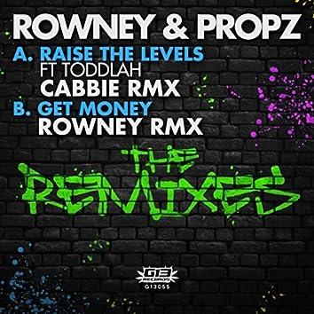 Raise the Levels (Cabbie Remix) / Get Money (Rowney Remix)