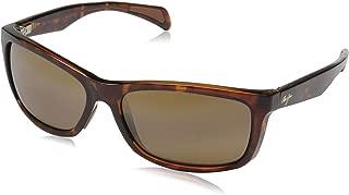 Maui Jim Puhi Wrap Frame Sunglasses