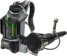 EGO Power+ 145 MPH 600 CFM Variable-Speed Turbo 56-Volt Lithium-Ion Backpack Blower with 5.0Ah Battery and Charger