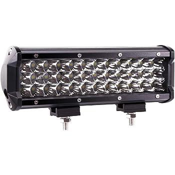 Jeep Car ATV Truck Lumitek 108W 9inch LED Light Bar Triple Row Spot LED Work Light Bar Off-road Waterproof Driving Fog Lights for Off-road SUV