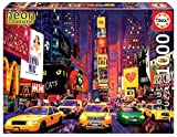 Educa- Times Square, New York ´Neon´ Puzzle, 1000 Piezas, Multicolor (18499)