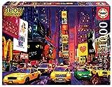 Educa - Times Square, New York ´Neon´ Puzzle, 1000 Piezas, Multicolor (18499)