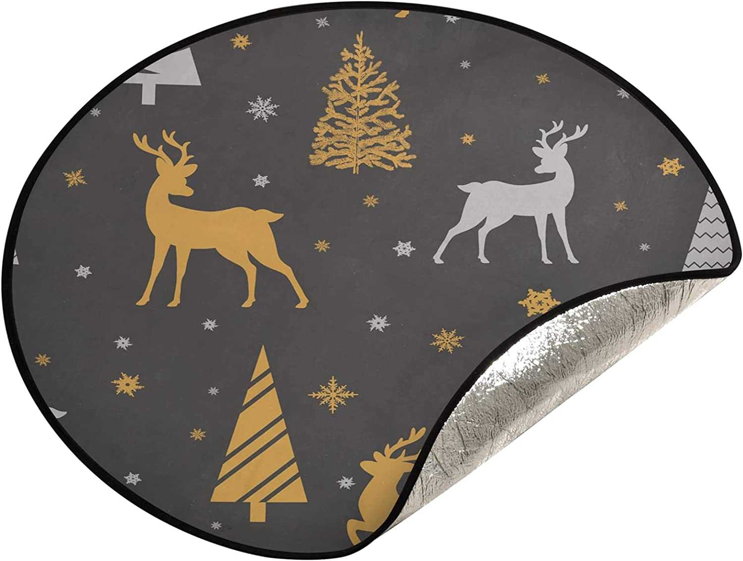 Popular popular xigua 28.3 Inch Christmas Tree Ranking TOP18 Stand - and Mat Fa