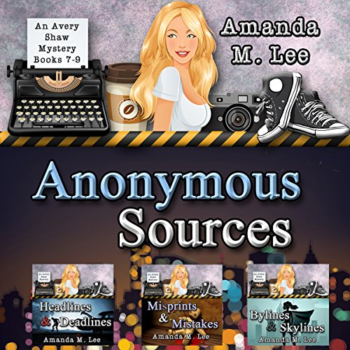 Anonymous Sources audiobook cover art