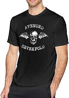 Mens Classic Avenged Sevenfold Tshirt Black