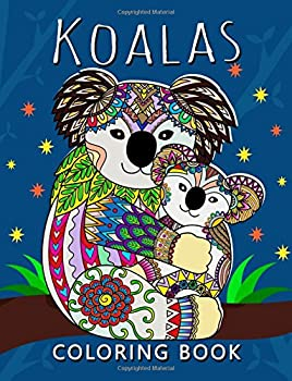 Koala Coloring Book  Stress-relief Adults Coloring Book For Grown-ups
