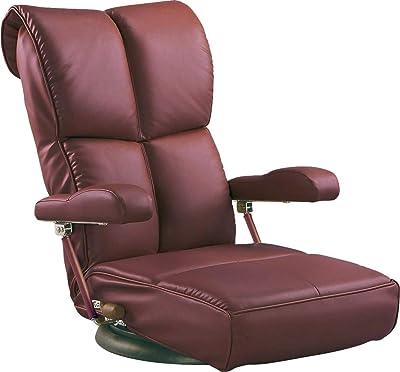 宮武スーパーソフトレザー座椅子(響) YS-C1367HR WN