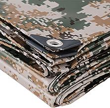 Dekzeil, 0,35 mm digitaal camouflage, dubbelzijdig, waterdicht, zeildoek, anti-veroudering, scheurvast, zonwering, isolati...