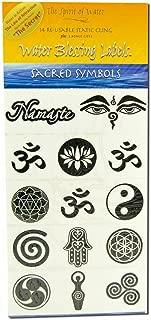 Water Blessing Labels: Sacred Symbols