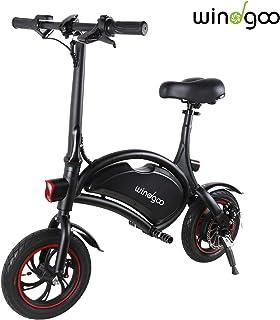 Windgoo Bicicleta Electrica Plegables, 350W Motor Bicicleta