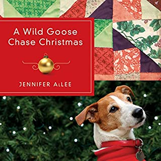 A Wild Goose Chase Christmas audiobook cover art