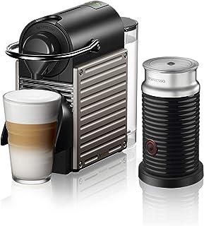 Nespresso C66T Pixie Titan Bundle, Titan Gri