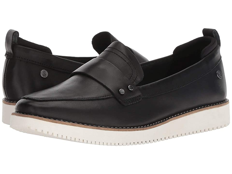 Hush Puppies Chowchow Loafer (Black Leather) Women