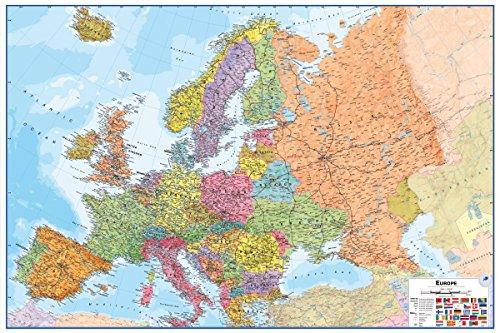 Wallpops Dry Erase kaart van Europa