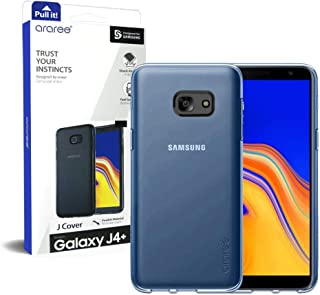 Samsung Galaxy J4 Plus Araree J Cover Series Transparent Back Case Cover - Clear Blue