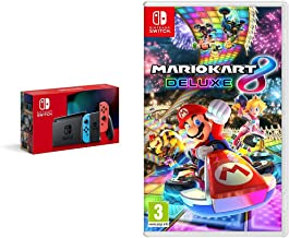 Nintendo Switch Néon + Mario Kart 8 Deluxe