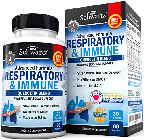 (42% OFF) Quercetin Respiratory & Immune Support Supplement $10.99 Deal