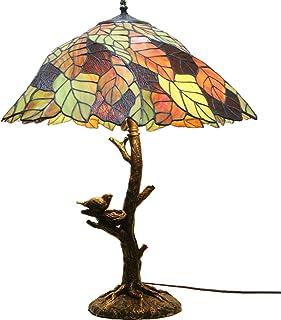 Lampes De Table Tiffany De 20 Pouces De Style Tiffany, Lampe De Sol De Lecture De Haute Qualité, Arboresque De Verre Uniqu...