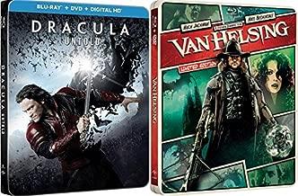 Dracula Blu-ray Steelbook Collection - Van Helsing (Limited Edition Steelbook) & Dracula Untold (Exclusive Limited Edition Steelbook 2Movie Blu-ray/DVD Bundle