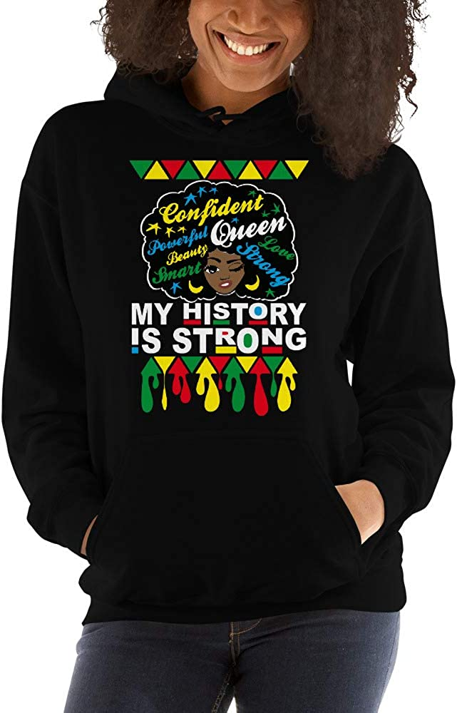 USClothing4kin Limited time sale My History is Cheap sale Strong Bl Shirt Month Black