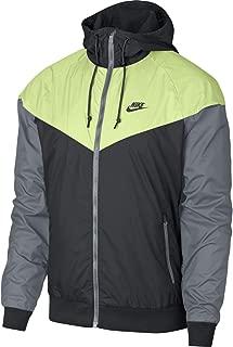 Nike Sportswear Windrunner 727324-060 Anthracite/Barely Volt Men's Jacket