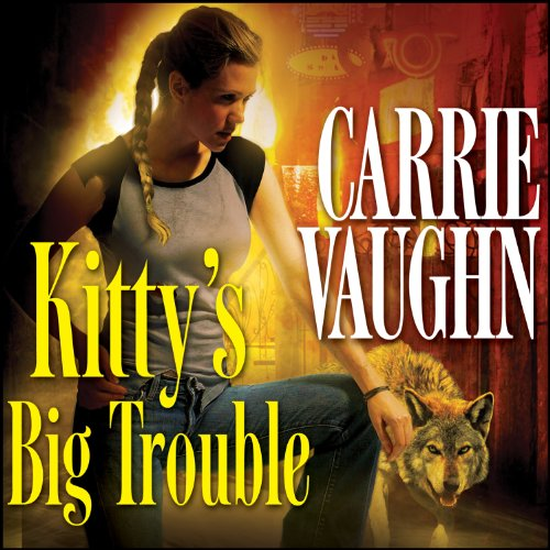 Kitty's Big Trouble audiobook cover art