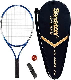 Senston 子ども ジュニア 硬式 テニスラケット 一体成型 テニス セット 19/23インチ