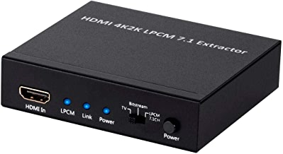 Monoprice BlackbirdTM 4K Series 7.1 HDMI Audio Extractor