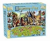 Devir BGCARPLUS3 - Carcasonne Plus, juego básico + 11 expansiones, edad recomandada 7 años y más